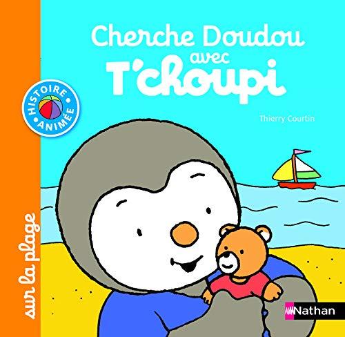 Cherche Doudou avec T'choupi sur la plage - Dès 1 an et demi