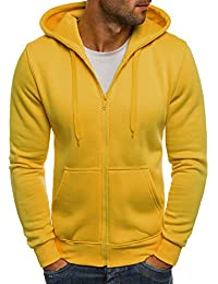 OZONEE Herren Sweatshirt Kapuzenpullover Langarmshirt Pullover Sweats Pulli J.STYLE AK15