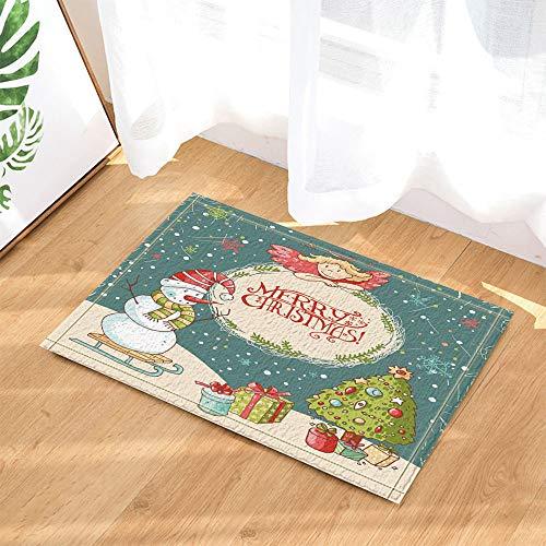 SHUHUI Sombrero Navidad Rojo muñeco Nieve árbol