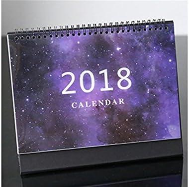 Fournitures de bureau Beau calendrier de bureau bureau bureau Starry bureau calendrier seul bureau pour le bureau (violet) B07H4GD34P | France  e5bb32