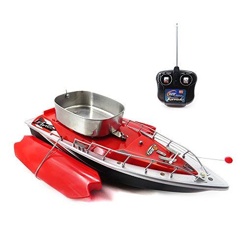 Goolsky Flytec Intelligente Drahtlose Elektrische RC Fischköder Boot Fernbedienung Fisch Finder Schiff Scheinwerfer Spielzeug (Doppelte Wellen-motor)