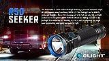 Olight® R50 Seeker Taschenlampe max. 2500 Lumen mit Cree XLamp XHP50 LED und Micro-USB-Ladeanschluss - wiederaufladbar, schwarz - 4