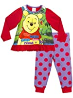Winnie the Pooh Girls Winnie the Pooh Pyjamas Ages 18 Months to 6 Years