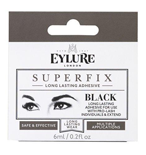 Eylure Superfix Black Drying Adhesive For Individual Lashes by Eylure Eyelashes (Eylure Lashes Individual)