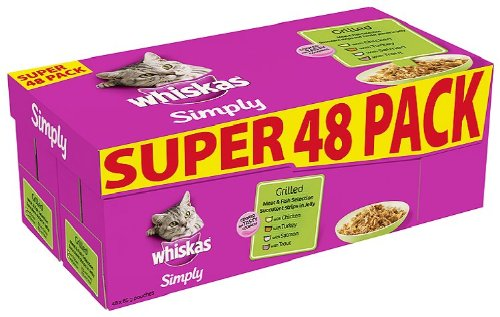whiskas-pouch-simply-grilled-meat-and-fish-48-x-85-g-pouches
