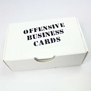Toys & Child Offensive Business Cards