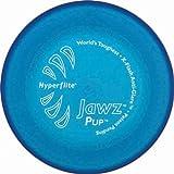 Hyperflite Hunde Frisbee Jawz bissfest für den kleinen Hund BLAU