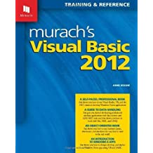 Murach's Visual Basic 2012 by Anne Boehm (2013-11-11)