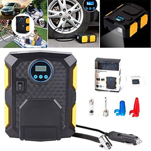 Auto-Luftpumpe Reifen Inflator Kompressor 12v auto luftkompressor/tankstelle luftpumpe/reifenfüller für autos, fahrräder, motorrad, ball, ballon (Auto-starter-reifen-inflator)
