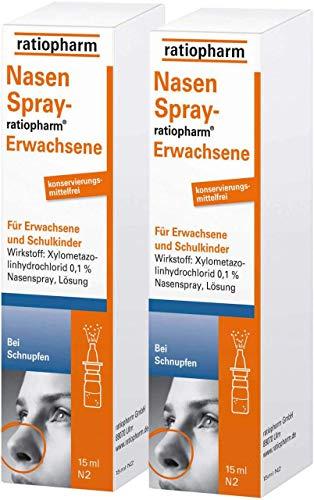 NasenSpray-ratiopharm Erwachsene 2 x 15 ml