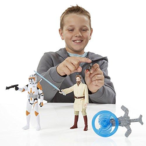 Star Wars Revenge Of The Sith 3.75-inch Obi-wan And Commander Cody Figure - 4