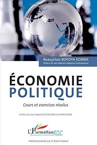 Économie politique cours et exercices resolus