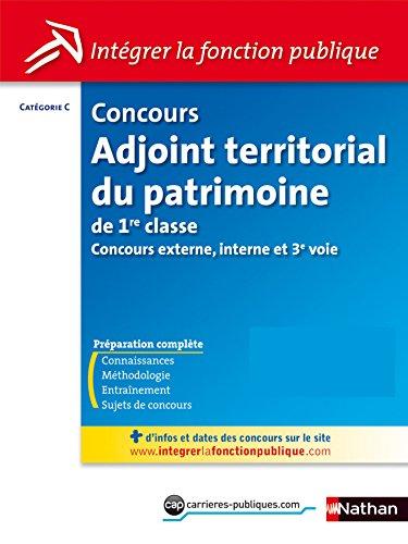 Concours Adjoint territorial du patrimoine de 1ère classe - Catégorie C