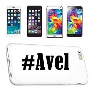 Handyhülle Samsung S7 Edge Galaxy Hashtag #Avel im Social Network Design Hardcase Schutzhülle Handycover Smart Cover für Samsung Galaxy Smartphone in Weiß Schlank und schön, das ist unser HardCase. D
