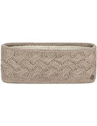 Lierys Fauske Stirnband für Damen, Ohrenschutz für den Winter in One Size 55-60 cm, verschiedene Farben, Ohrenwärmer mit Innenfutter aus Fleece, Headband mit geflochtenem Strickmuster
