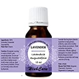 #10: WishCare Lavender Essential Oil 15 ML - 100% Pure, Undiluted & Natural Therapeutic Grade - For Aromatherapy & Massage