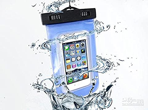 Universal Waterproof Case, Geotech Cell Phone Durable Underwater Dustproof Pouch Dry Bag | Touch Responsive Transparent Windows | Dry Bag With Neck Strap | Rafting Kayaking Swimming Boating Fishing Skiing | for cell phone up to 5.5