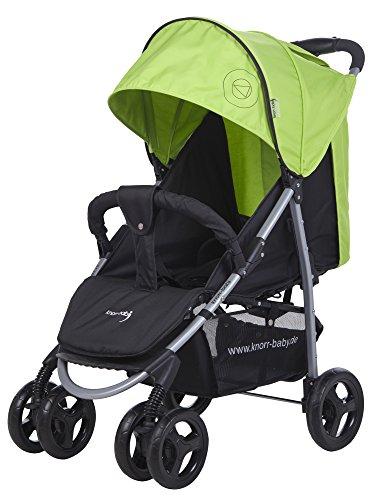 knorr-baby-passeggino-sportivo-streeter-happy-colour-con-parasole-verde-grun