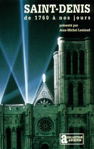 Saint-Denis de 1760  nos jours