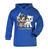 Game of Thrones Game of Winter Kleinkind Light Hoodie Funny Neuheit Baby Geschenke Got Geschenke Kinder Hoody Geburtstag Geschenke (1–2 Jahre, Blau)