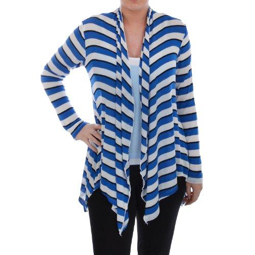 tesco-ff-womens-striped-long-line-waterfall-cardigan-blue-6