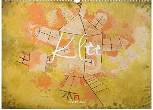 Paul Klee 2019, Wandkalender im Querformat (45x33 cm) - Kunstkalender (Expressionismus) mit...