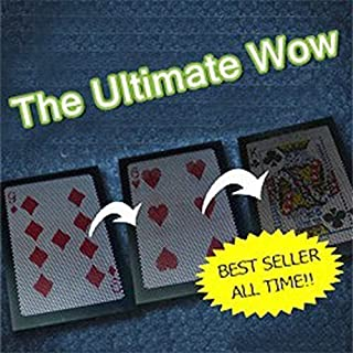 ADB Inc New Arrival the Ultimate Wow 3.0 Version / Change Twice Ultimate Exchange Magic Tricks by ADBINC