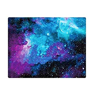 Mouse Pad,for Galaxy Customized Rectangle Non-Slip Rubber Mousepad Gaming Mouse Pad(Blue star)