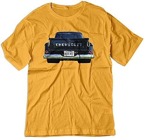 BSW Herren T-Shirt Gr. Medium, Gold