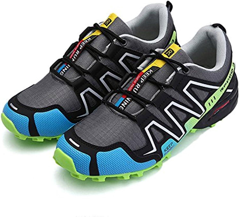 Zapatos De Senderismo Hombres Impermeables Tobillo Ligero Zapatos De Gran Tamaño Deportes Zapatos Casuales Zapatos...
