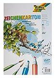 Folia Bringmann 8400 - Folia Zeichenpapier A3 25 Blatt