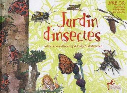 Jardin d'insectes (1CD audio)
