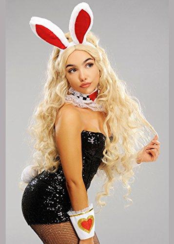 Magic Box Int. Womens Wonderland White Rabbit -