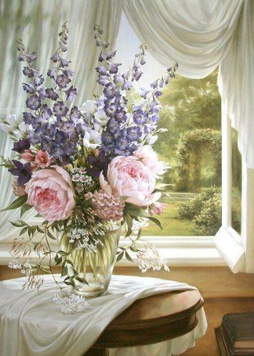 Keilrahmen-Bild - Igor Levashov: Estate I 60 x 80 cm
