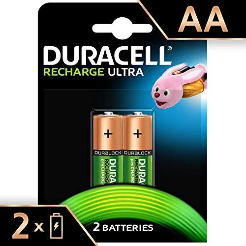 Duracell Recharge Ultra AA Prericaricate Batterie Stilo Ricaricabili...
