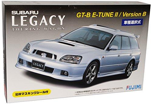 Subaru Legacy Touring Kombi GT-B E-Tune II Version B 1998-2003 Kit Bausatz 1/24 Fujimi Modell Auto mit individiuellem Wunschkennzeichen