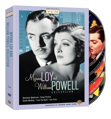 Myrna Loy and William Powell Collection (Manhattan Melodrama / Evelyn Prentice / Double Wedding / I Love You Again / Love Crazy
