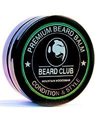Baume a Barbe de Haute qualité | Mountain Woodsman (Montagne Bûcheron) | Le meilleur conditionneur et adoucissant pour votre barbe | Bio et 100% Naturel | Parfait pour assurer l'entretien et la croissance de votre barbe