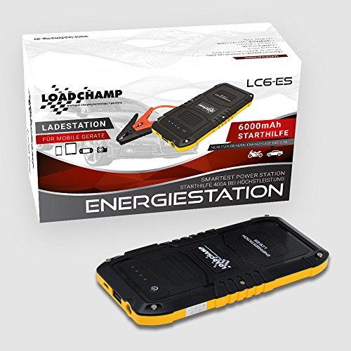 Mobile Lithium Auto Motorrad Roller Batterie Starthilfe Gerät 6000mAh 400A USB Ladegerät externe Batterie Akku Power Bank
