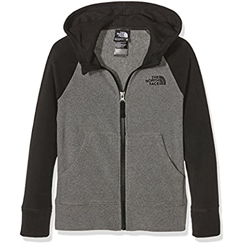 North Face B GLACIER FULL ZIP HOODIE (RECYCLED) - Sudadera, color gris, talla M