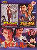 DON / TEZAAB / MELA ( 3 MOVIES IN 1 DVD ...