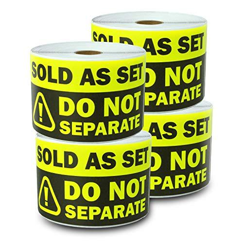 Verkauft als Set - nicht separate Etiketten für Warnung, Versand, Versand, Lieferung, Lieferung, Lieferung, Lieferung, Lieferung, Lieferung, Lieferung, Versand (Eltern) 4 Rolls fluoreszierendes gelb