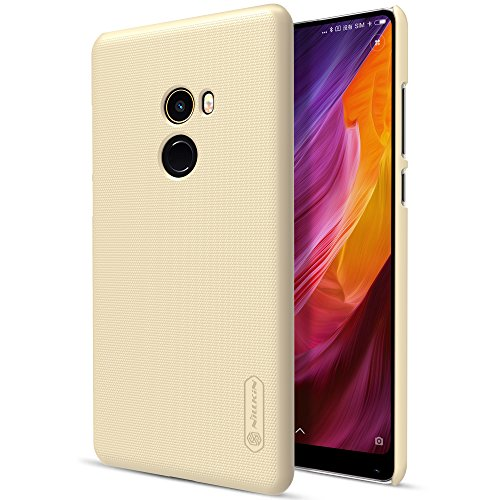 Funda® Firmness Smartphone Enclosures + Protetor de Tela 1 para Xiaomi Mi MIX 2 (Gold)