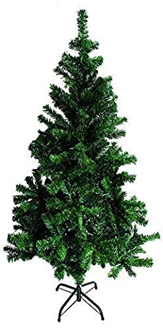 Sapin De Noël Artificiel XXL 500 Pointes 180 cm; vert,blanc violet/noir artificiel Arbres de noël avec support 4 divers disponible dans le blanc,noir,rose/classique vert 500 pointes pour - Vert, XX-Large