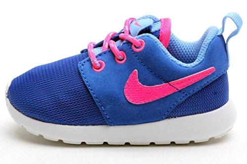 nike rosherun (PS/BAMBINI) scarpe da corsa 659374 scarpe da tennis iper cobalto/hyper rosa-università blu