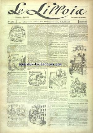 LILLOIS (LE) [No 170] du 04/03/1888 - CONSEIL MUNICIPAL - CLASSEMENT DES GRANDS TRAVAUX - LA RESTAURATION DE LA PORTE DE PARIS