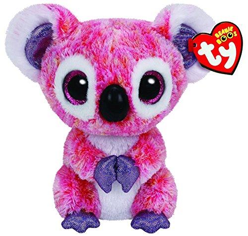 "Beanie Boo Koala - Kacey - Pink - 15cm 6"""