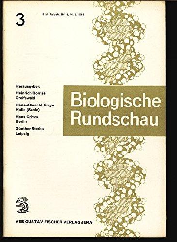Die Orientierungsbewegungen der Chloroplasten, in: BIOLOGISCHE RUNDSCHAU, Band 6, Heft 3, 1968.