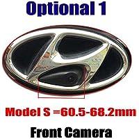 Cámara de vista frontal del coche Logotipo Cámara frontal incorporada para ix35 IX45 ix25 Accent Azera