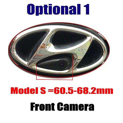 HD Frontkamera Einparkhilfe Nachtsicht für IX35 IX45 IX25 Accent Azera Elantra Entourage Genesis i30 i40 i45 Santa Fe Sonata Tucson Veloster (Model A= 60 mm)